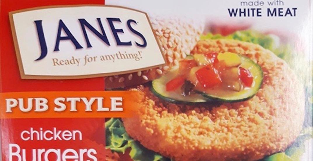 Janes brand Pub Style Chicken Burgers recalled due to Salmonella