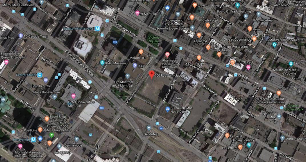 700 Rue Saint Jacques Montreal Victoria sur le Parc