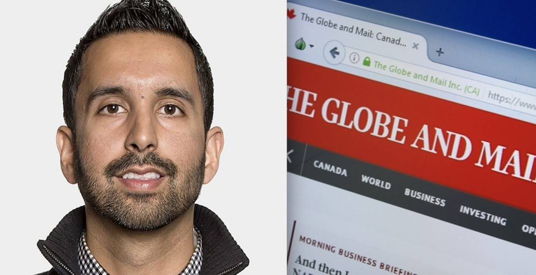 Vancouver Globe and Mail reporter quits after 'dispute over a story involving race'