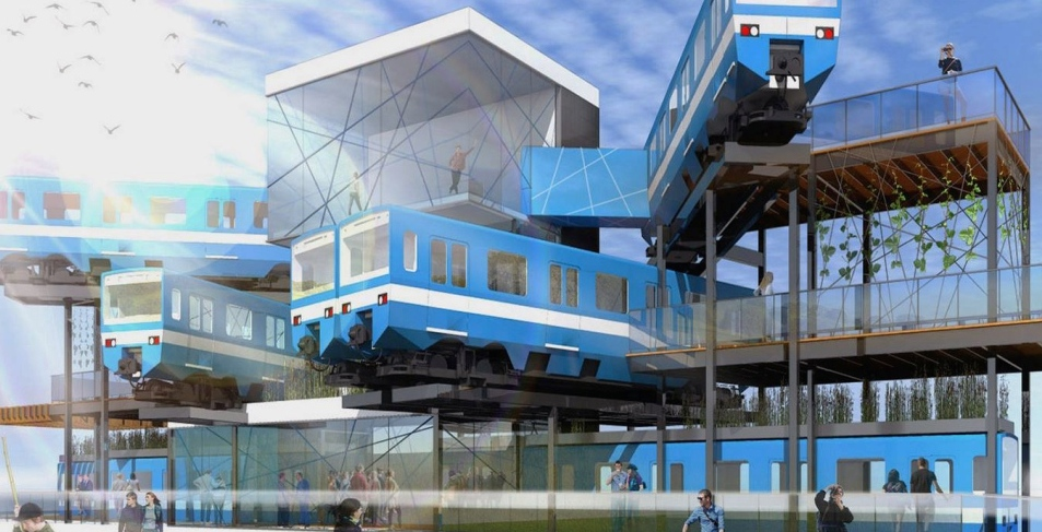 This Montreal group wants to turn old metro trains into a cultural hub