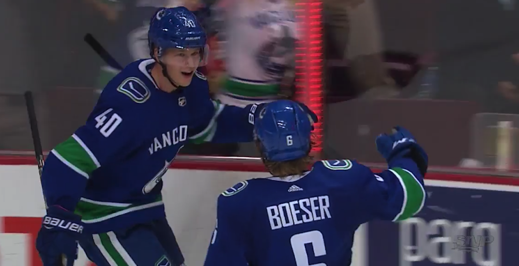 Pettersson is having the best start by a Canucks rookie EVER