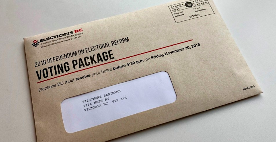 99% of BC voters have not mailed in their electoral referendum ballots yet