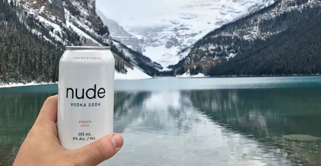 Sugar-free Nude Vodka Soda expanding into Alberta
