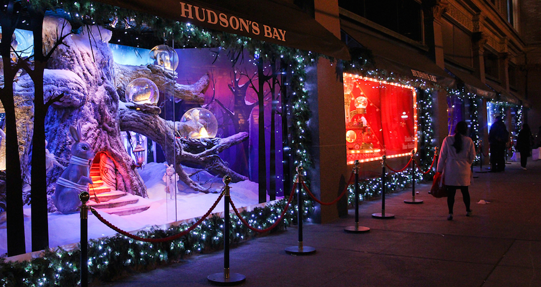 Hudson S Bay And Saks Fifth Avenue To Reveal Iconic Holiday Windows This Weekend