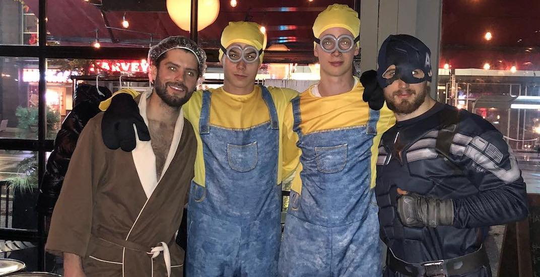 Here's what Canucks players dressed up as for Halloween (PHOTOS)