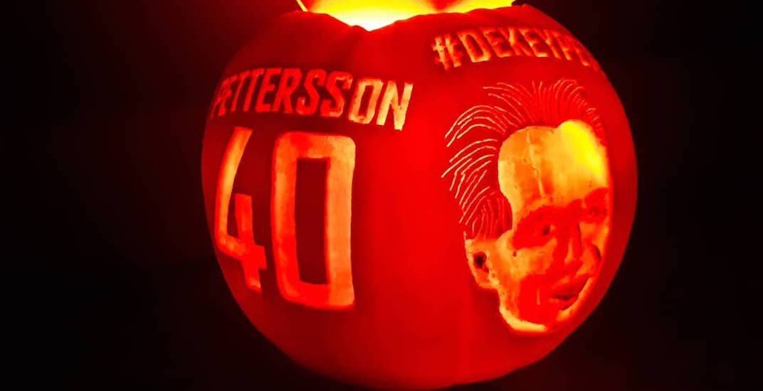 Canucks superfan steals the show with impressive pumpkin carvings (PHOTOS)