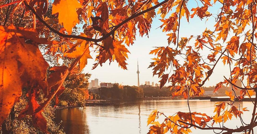 "A ""cool front"" moves into Toronto for the Thanksgiving long weekend"