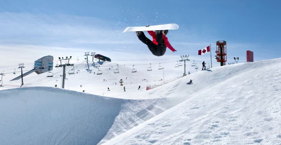 Canada Olympic Park's ski hill is officially open for the 2018 season