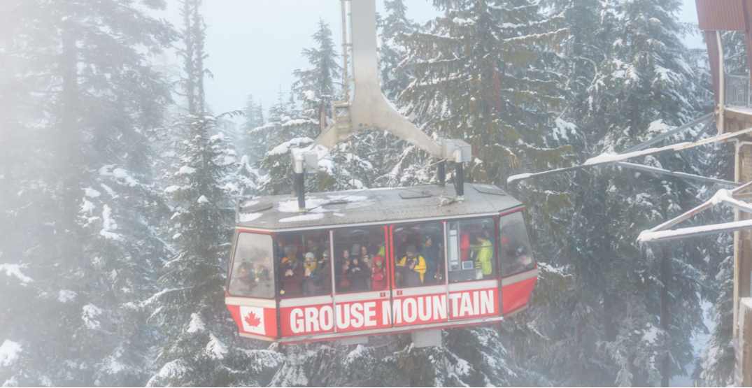 "Grouse Mountain closed for the day due to ""inclement weather"""