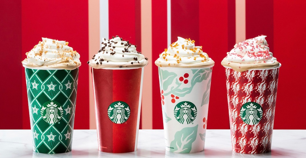 Starbucks holiday cups 1