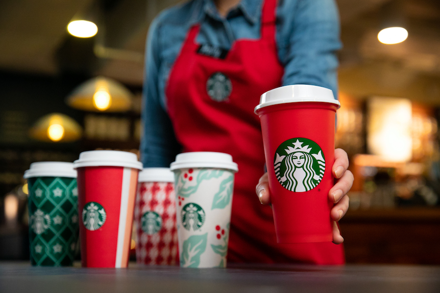 Starbucks holiday cups 4 1