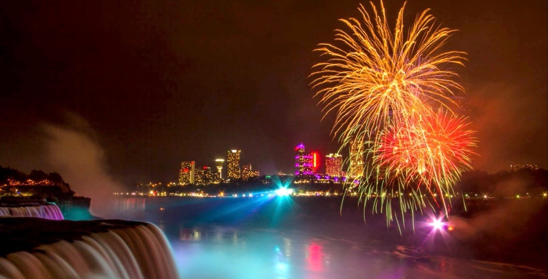 Niagara Falls is hosting an epic international fireworks competition this month