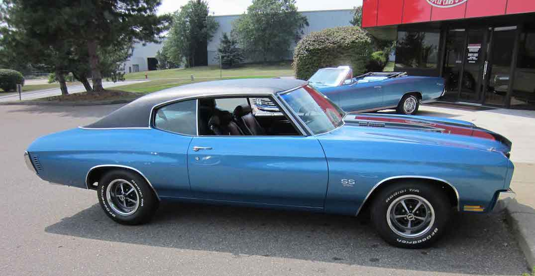 The Calgary Police Service wants to know if you've seen this classic car