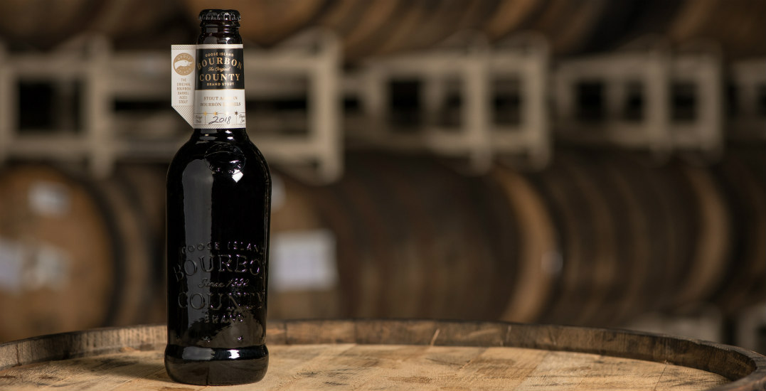 Vancouver is getting 84 bottles of Goose Island Bourbon County Brand Stout on Black Friday