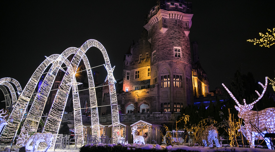 Casa Loma is transforming into a winter wonderland on December 1