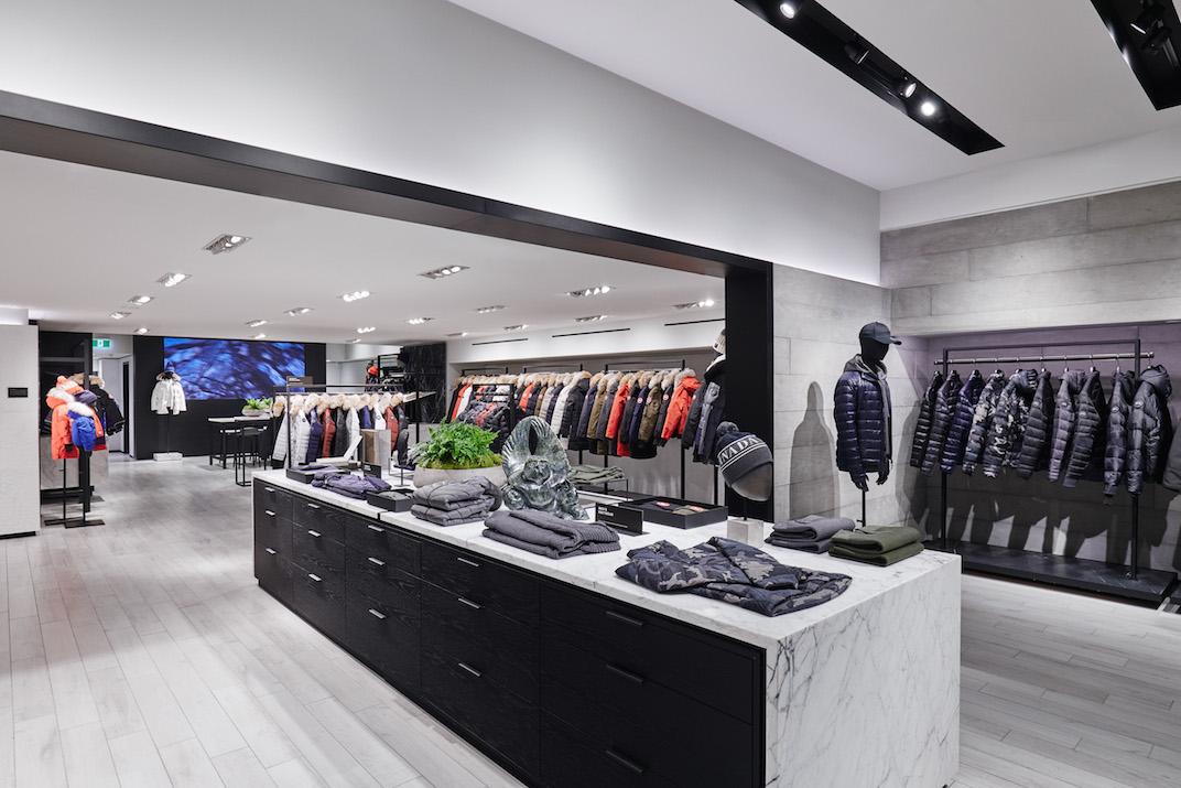 canada goose retail store toronto