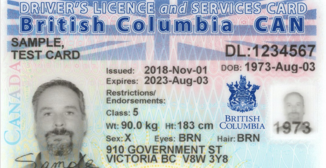 BC is introducing gender neutral government issued ID and health cards