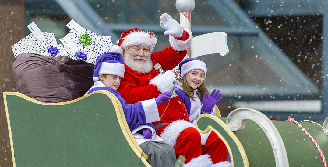 Here are all the road closures expected for Vancouver's Santa Claus Parade