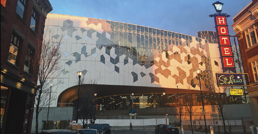 Calgary's Central Library just celebrated its second anniversary