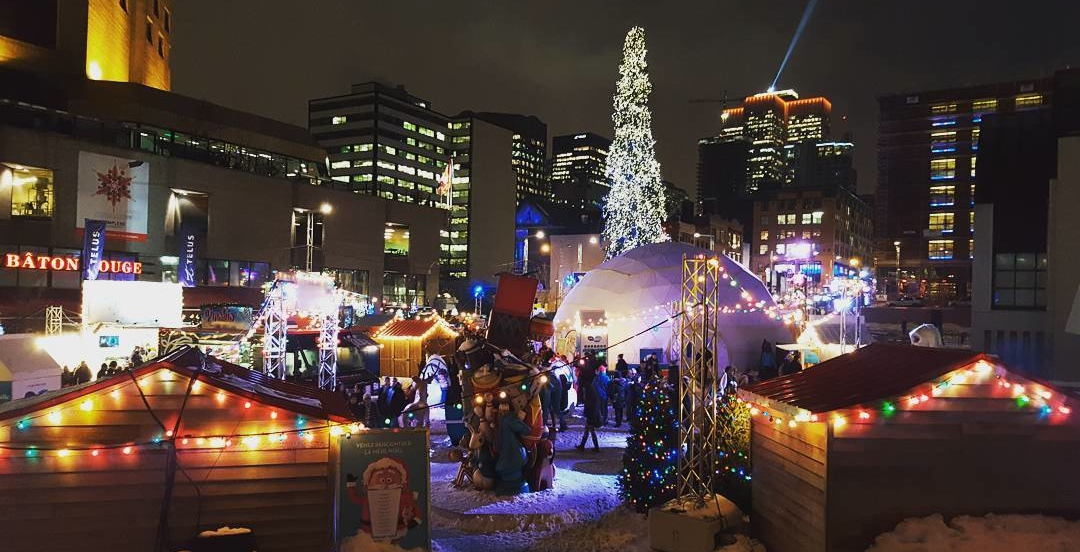 One of Montreal's biggest Christmas markets is returning this month