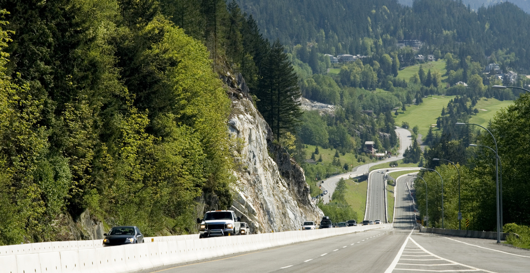 BC to reduce speed limits on Sea-to-Sky Highway