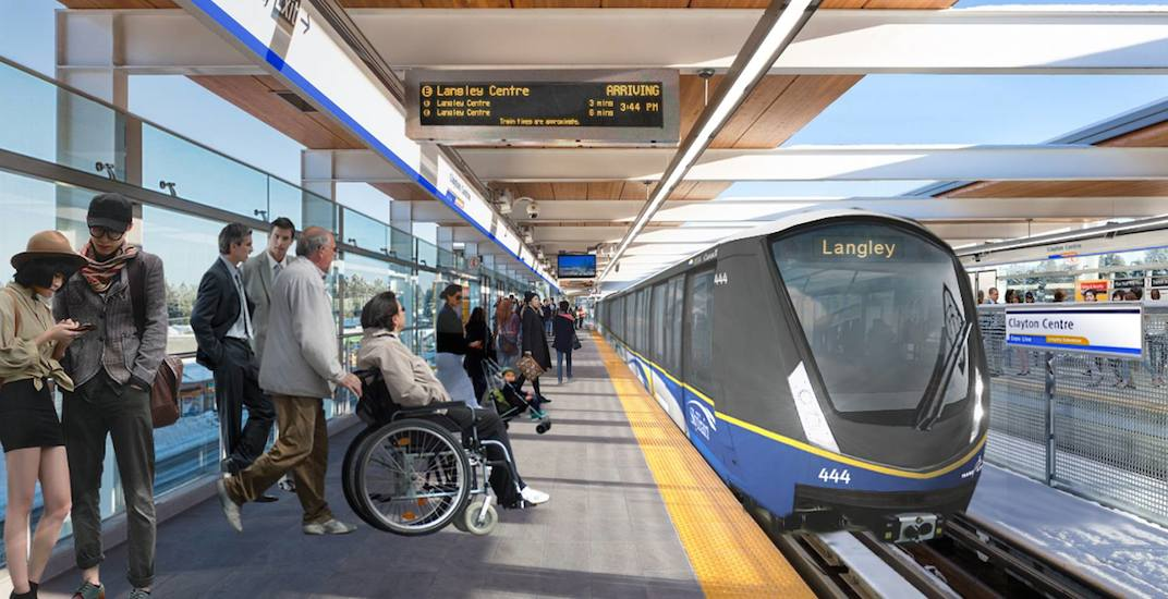 TransLink could open new 16-km SkyTrain in Surrey by 2025