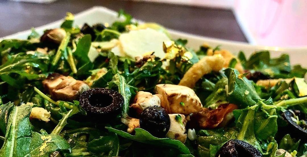 This Montreal restaurant serves a 24-karat-gold gourmet salad