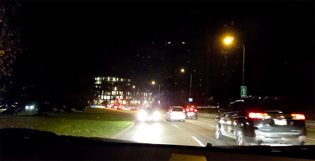 Spotted: Car driving the wrong way on Cambie Street (VIDEO)