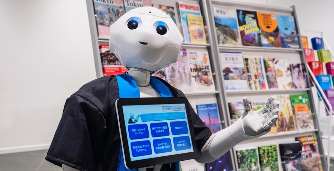 Retail store robot japan