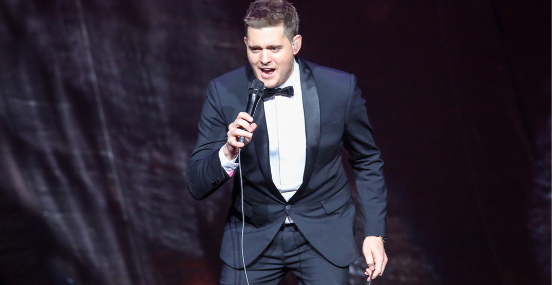 Grammy Award-winning Michael Bublé recognized for Order of BC