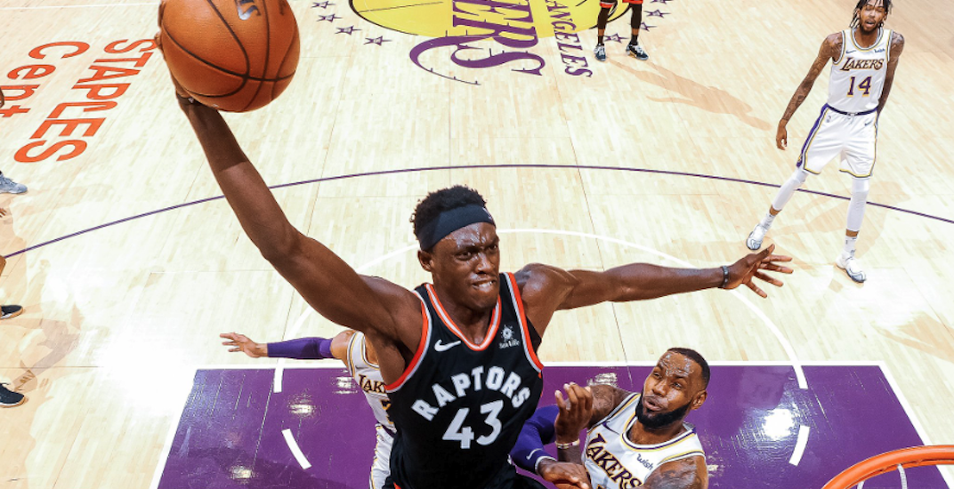 From Bench Mob to dunking on Lebron, Raptors' Pascal Siakam has arrived