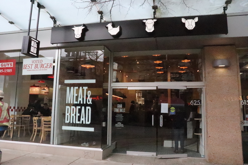 Meat and Bread