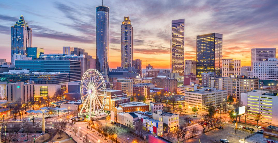 You can fly from Vancouver to Atlanta for $257 this spring