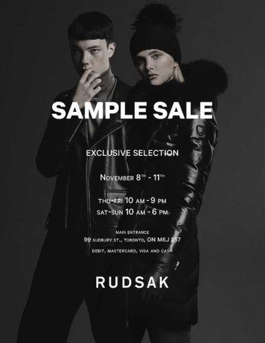 sample sale