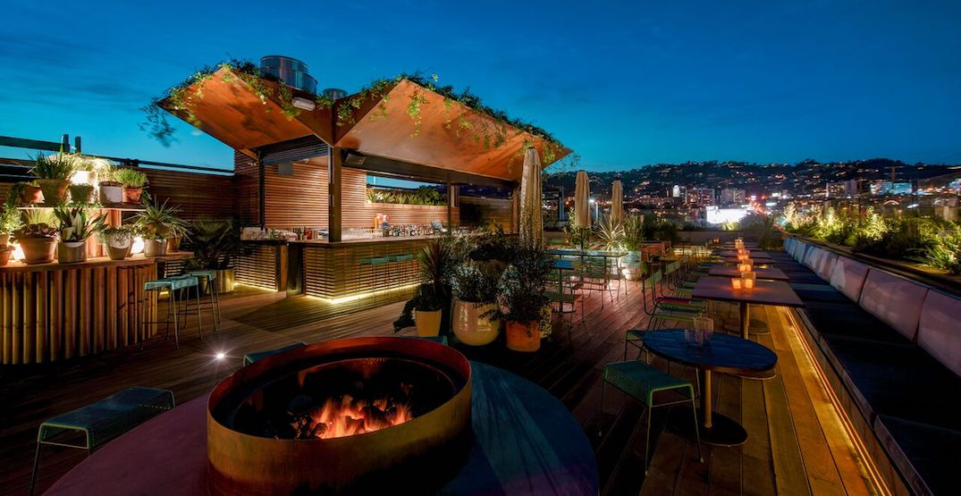 These are the hottest rooftop bars to quench your thirst in West Hollywood