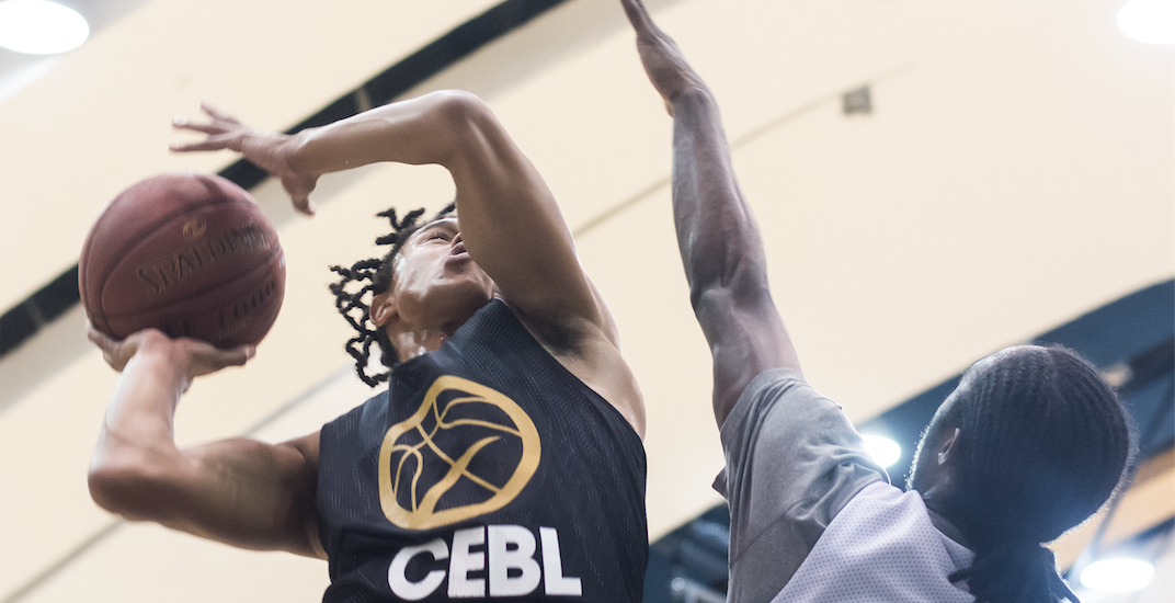 Cebl player showcase contested layup