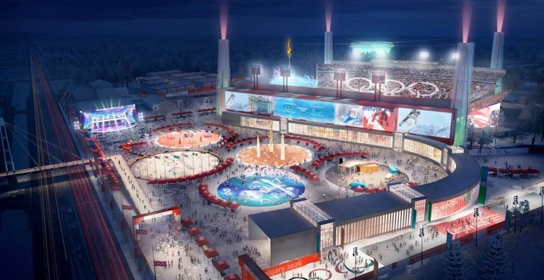 Here's what the 2026 Calgary Olympics could look like (RENDERINGS)