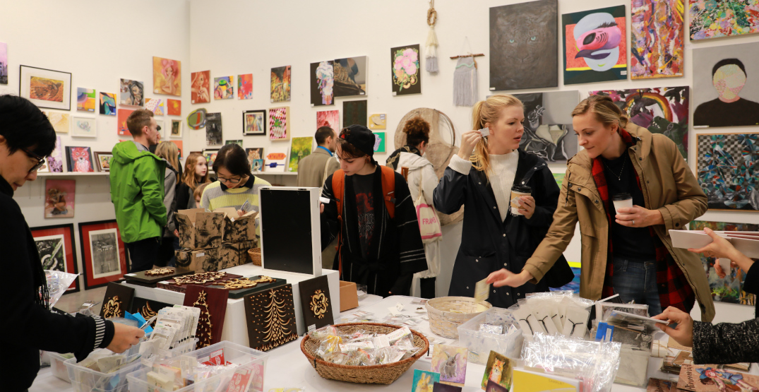 Add a touch of beauty to your life at Emily Carr University's Legendary Student Art Sale