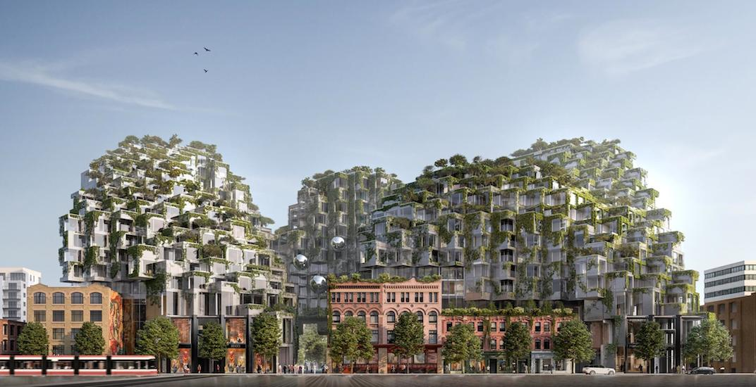 Vancouver developer behind this stunning urban 'mountain' in Toronto (RENDERINGS)