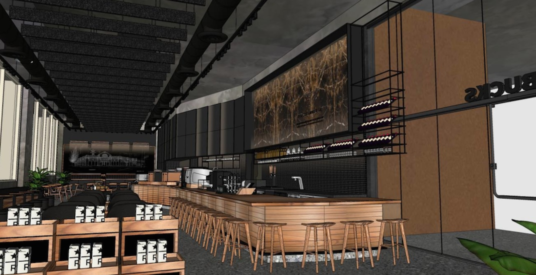 Starbucks is opening a massive Reserve Bar in downtown Vancouver
