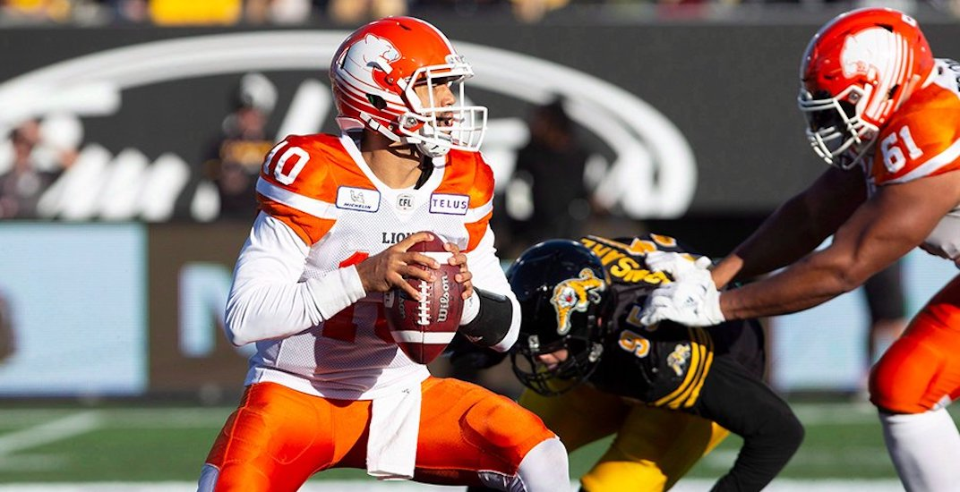 Here's how BC Lions fans reacted to their team's pathetic playoff loss