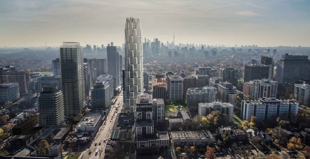 Honeycomb-inspired condo tower proposed for Midtown Toronto