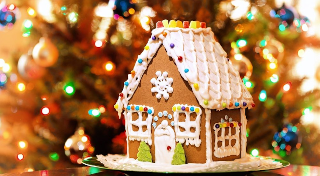 You can now get Gingerbread House flavoured ice cream in Canada