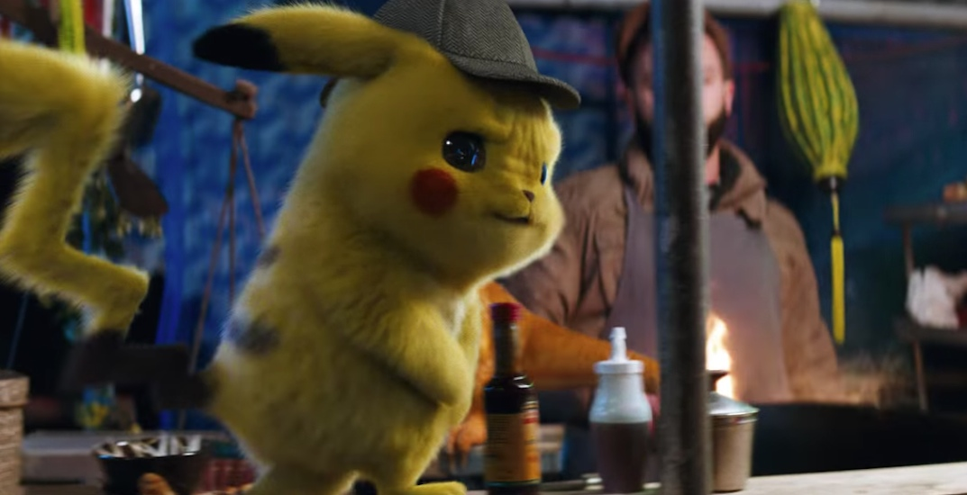 First trailer for Pokémon live-action movie features Ryan Reynolds as Pikachu (VIDEO)