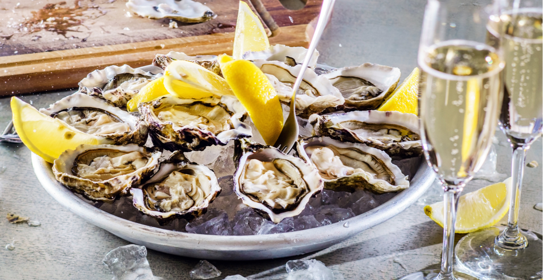 There's a fancy new champagne and oysters lounge on King Street