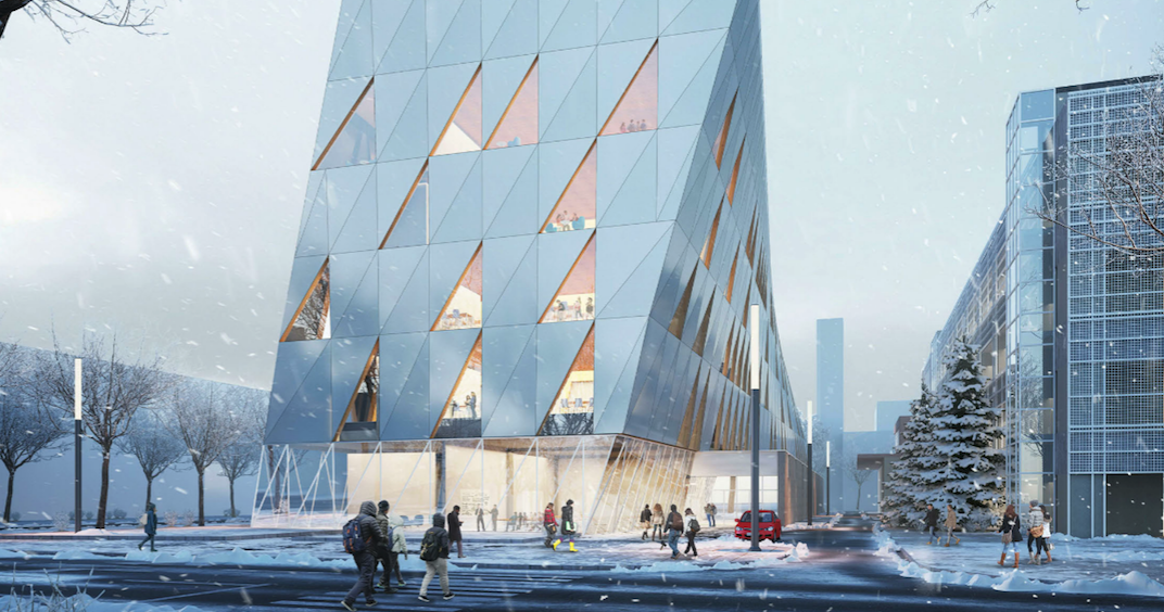 This proposed 10,000 square metre building at York University is stunning