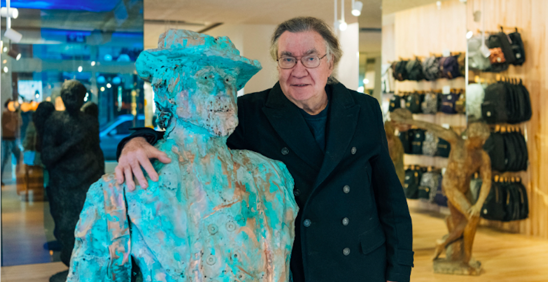 Sequel to iconic Gassy Jack statue unveiled inside Gastown store