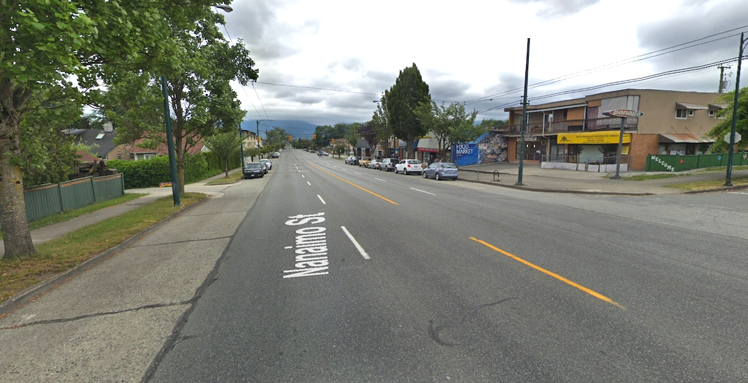 One road lane could be permanently removed from Nanaimo Street