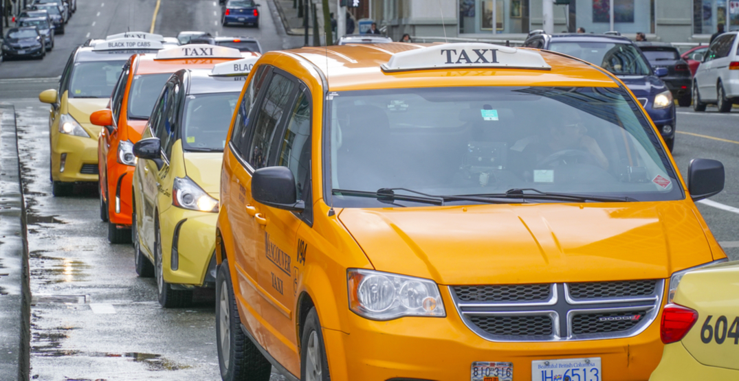 BC government reducing annual licence fees for taxi industry