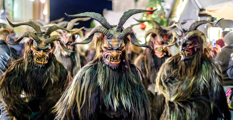 Brewery hosting Christmas market celebrating Krampus, St. Nick's demonic cousin
